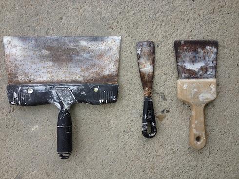 comment faire raccord platre spatule. Black Bedroom Furniture Sets. Home Design Ideas