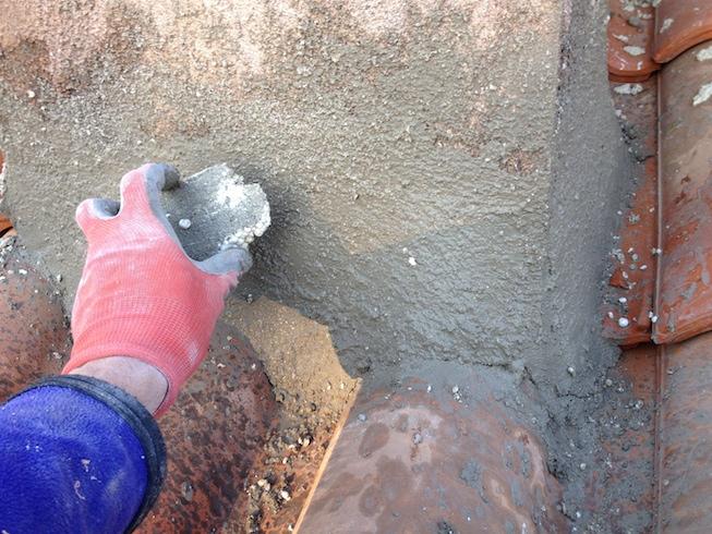 comment faire un solin en ciment c ble lectrique. Black Bedroom Furniture Sets. Home Design Ideas