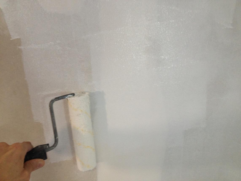 préparer son mur-plafond pour la peinture | bricolerenove.fr - Comment Lisser Un Mur Avant Peinture