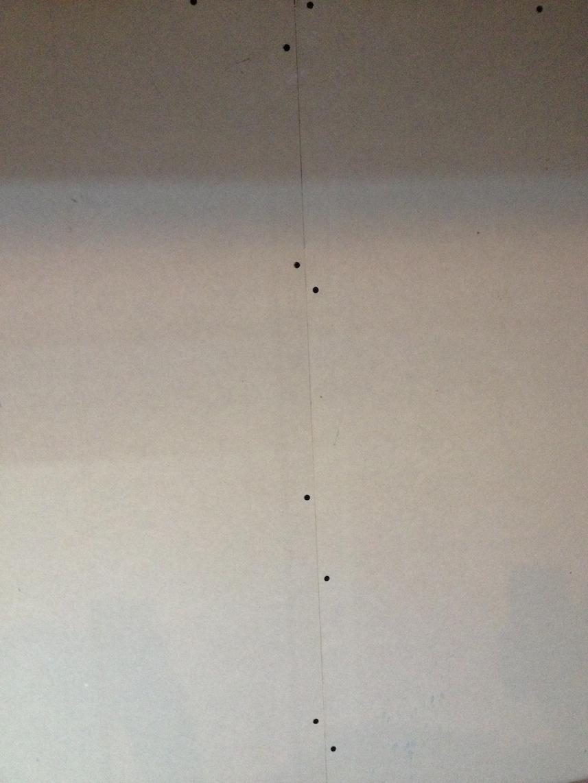 Faire ses joints et ses bande placo entre plaque de pl tre - Faire les bandes de placo au plafond ...