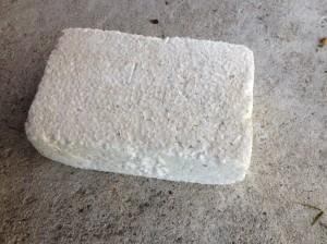 bloc-polystyrene
