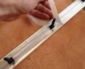 Installer une barre de seuil de porte